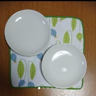 ムジルシリョウヒン(MUJI (無印良品))のmeg様専用☆無印良品  白プレート  6枚セット(食器)