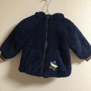ザラキッズ(ZARA KIDS)のZARA BABY モコモコ アウター ブルゾン 86(ジャケット/コート)
