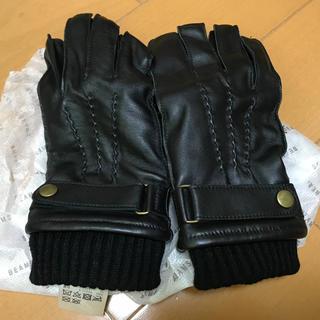 ビームス(BEAMS)のレザーグローブ BEAMS(手袋)