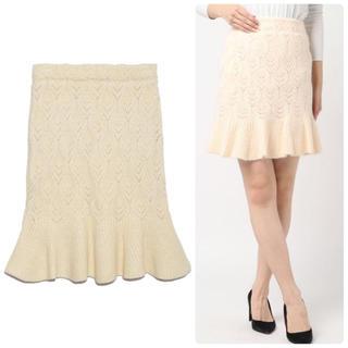 Lily Brown - Lily brown♡裾フレアニットスカート