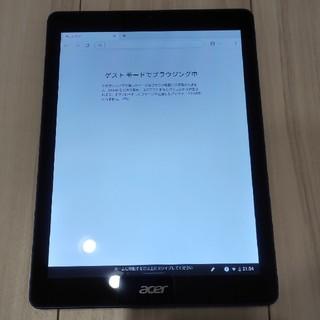 エイサー(Acer)のChromebook Tab 10 カバーケース付き(タブレット)
