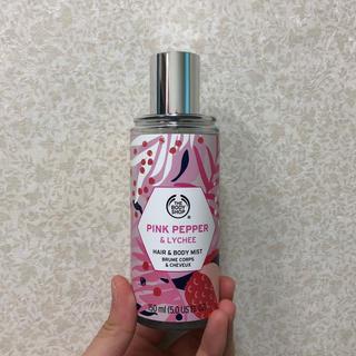 ザボディショップ(THE BODY SHOP)のヘア&ボディミスト ピンク&ペッパーライチ 150ml(香水(女性用))