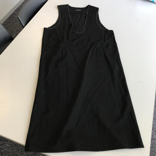 ワイズ(Y's)のワイズ ジャンパースカート ワンピース ノースリーブ ウール 92aw?(ロングワンピース/マキシワンピース)