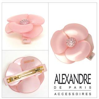 Alexandre de Paris - アレクサンドルドゥパリ カメリアバレッタ 大 ピンク
