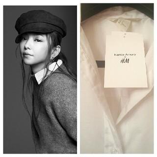 エイチアンドエム(H&M)の安室奈美恵 Namie Amuro × H&M 第2弾 コットンシャツ 32(ミュージシャン)