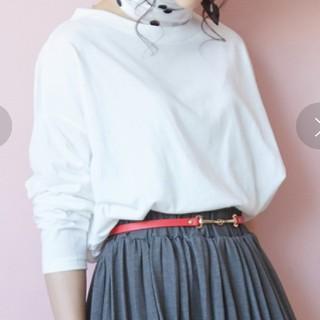 ViS - ViS タックプルオーバー 長袖 Tシャツ