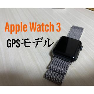 Apple Watch - Apple Watch Series 3 スペースグレイ 38mm