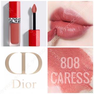 Dior - 【新品箱なし】808 カレス ルージュディオール ウルトラリキッド 人気色1位✦