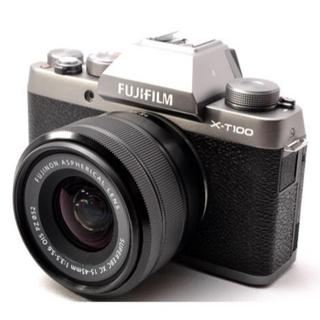 富士フイルム - ❤️WiFi&Bluetooth搭載❤️富士フィルム X-T100 レンズキット
