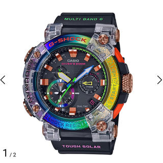 ジーショック(G-SHOCK)のG-SHOCK FROGMAN GWF-A1000BRT-1AJR ボルネオ(腕時計(デジタル))