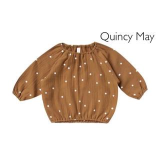 Caramel baby&child  - 新作Quincy Mae /クインシーメイ★トップスwalnut