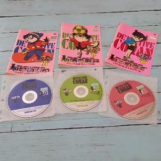 ショウガクカン(小学館)の3本セット DVD 名探偵コナン part8 1.3.5 レンタル落ち(アニメ)