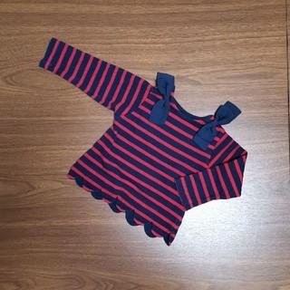 プティマイン(petit main)のプティマイン トップス 80センチ(Tシャツ)