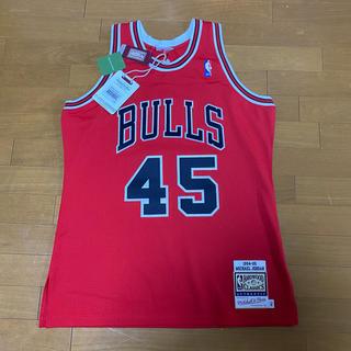 ミッチェルアンドネス(MITCHELL & NESS)のMichael Jordan authentic jersey(タンクトップ)