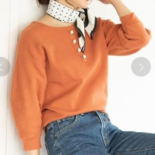 ViS - ビス ボリューム袖 プルオーバー