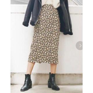アングリッド(Ungrid)のアングリッド  レオパード柄スカート(ひざ丈スカート)
