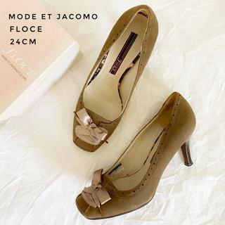 モードエジャコモ(Mode et Jacomo)のMode et Jacomo レースアップパンプス 15(ハイヒール/パンプス)