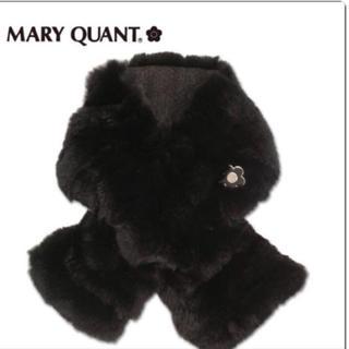 マリークワント(MARY QUANT)の新品タグ付きマリークワント MARY QUANT ティペット マフラー (マフラー/ショール)