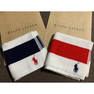 ラルフローレン(Ralph Lauren)のRalph Lauren ラルフローレン ハンカチ 2枚(ハンカチ/バンダナ)