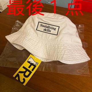 VANQUISH - 新品未使用 fr2 Grace Chow   帽子 キャップ 白
