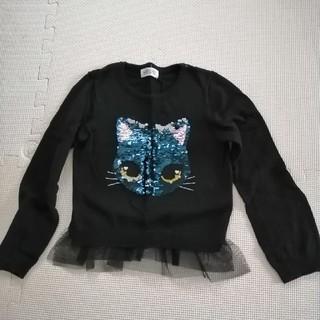 エイチアンドエム(H&M)のH&M ハロウィン 黒ネコ セーター (ニット)
