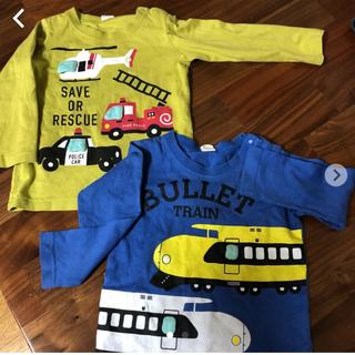 ナルミヤ インターナショナル(NARUMIYA INTERNATIONAL)のTシャツ 男の子 ロンT 2枚(Tシャツ)