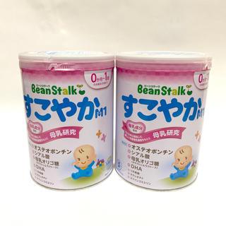 オオツカセイヤク(大塚製薬)のbeanstalk○すこやかM1○800g缶×2缶セット(その他)