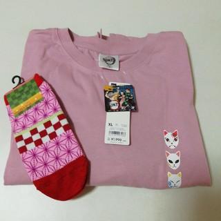 GU - 新品未使用鬼滅の刃 GU ワンピース&靴下22~24cm
