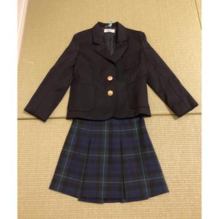 シップス(SHIPS)の(中古・美品)SHIPS 120紺ブレ・110スカート・120ブラウス(ドレス/フォーマル)
