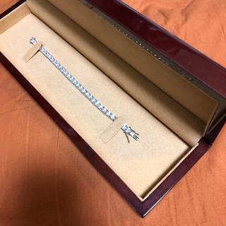 アヴァランチ(AVALANCHE)の【テニスブレスレット】silver925  ブレスレット テニスチェーン(ブレスレット)