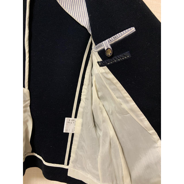 martinique Le Conte(マルティニークルコント)のmartinique 濃紺テーラードジャケット レディースのジャケット/アウター(テーラードジャケット)の商品写真