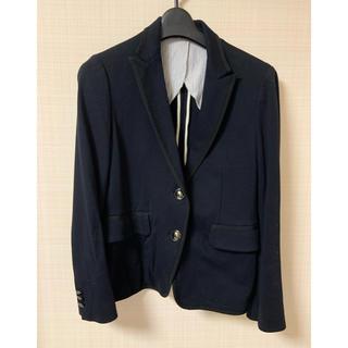 マルティニークルコント(martinique Le Conte)のmartinique 濃紺テーラードジャケット(テーラードジャケット)