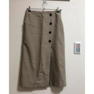 シップス(SHIPS)のタイトスカート(ロングスカート)