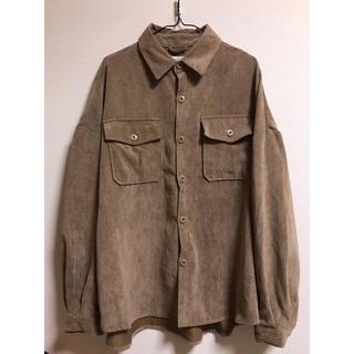 ウィゴー(WEGO)のコーデュロイシャツ(シャツ)