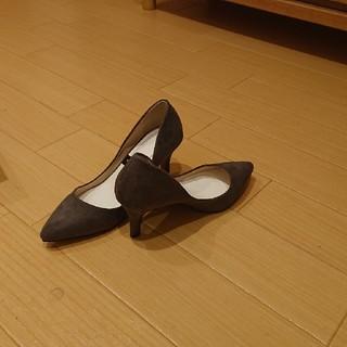 プレーンクロージング(PLAIN CLOTHING)の新品未使用 スエードパンプス PLAIN CLOTHING(ハイヒール/パンプス)