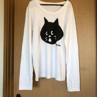 ネネット(Ne-net)のぶんたん様専用 ネネット にゃー ロンT 長袖Tシャツ 猫(Tシャツ(長袖/七分))