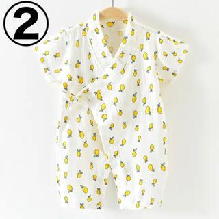 韓国子供服 lemon甚平 肌着 ガーゼ(甚平/浴衣)