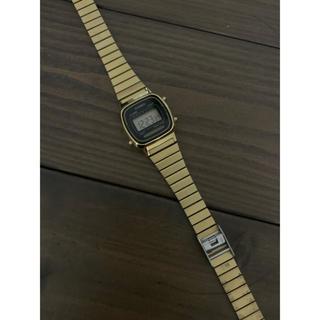 カシオ(CASIO)のチープカシオ / カシオスタンダード LA-670WGA-1 / ゴールド(腕時計)