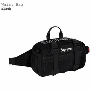 シュプリーム(Supreme)の19fw Supreme Waist Bag Black 新品未使用(ウエストポーチ)