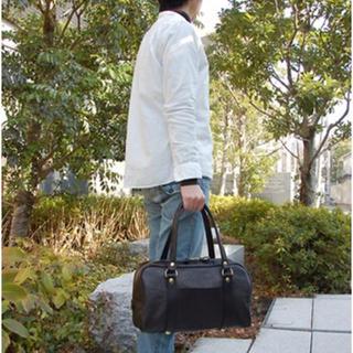 ヘルツ(HERZ)のHERZ 昔使っていた学生鞄を思わせるカジュアルボストンバッグ(ボストンバッグ)