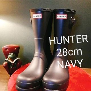 ハンター(HUNTER)のハンター オリジナル ショート HUNTER レインブーツ メンズ(長靴/レインシューズ)