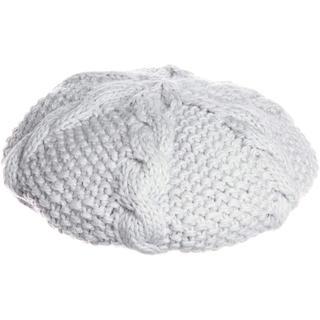 スナイデル(snidel)のsnidel ケーブルニット帽 BLACK(ハンチング/ベレー帽)