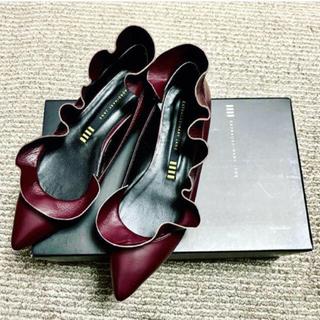 """ペリーコ(PELLICO)の""""Extraordinary Jane"""" フリルフラットシューズ(ローファー/革靴)"""
