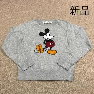 ディズニー(Disney)のディズニー ユニクロ ニットセーター 130 新品(ニット)