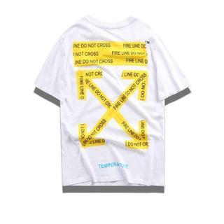OFF-WHITE - OFF-WHITE シャツ 2男女兼用  DO53-1