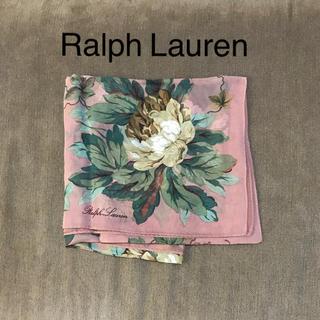 ラルフローレン(Ralph Lauren)の★新品★ラルフローレン シルク100% スカーフ(バンダナ/スカーフ)