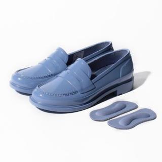 ハンター(HUNTER)の新品✨定価16500円 ハンター ブルー23cm  or ネイビー (ローファー/革靴)