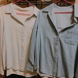 ジェイダ(GYDA)のGYDA デニムシャツセット 4500円から値下げ(シャツ)