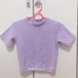 ゴゴシング(GOGOSING)のborn champs  クロップド トップス(Tシャツ(半袖/袖なし))