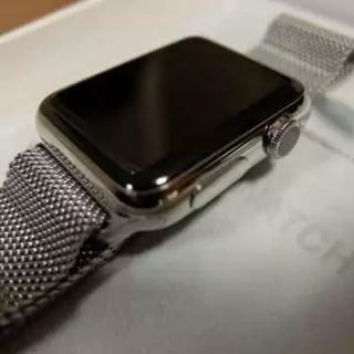 アップルウォッチ(Apple Watch)の40mmケース用ミラネーゼループ MTU22FE/A(その他)